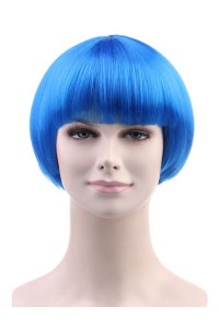 Standard Charming Short Bob - Blue
