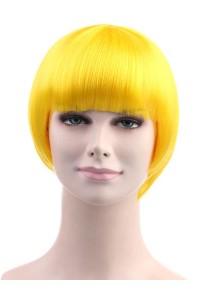 Standard Charming Short Bob - Yellow