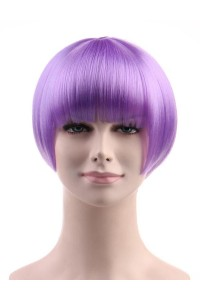 Standard Charming Short Bob - Purple