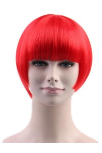 Standard Charming Short Bob - Red