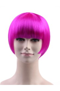 Standard Charming Short Bob - Neon Violet