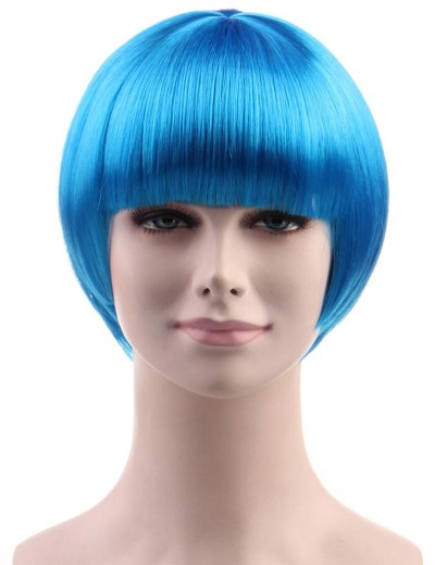 Standard Charming Short Bob - Neon Blue