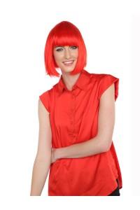 Deluxe Super Model Bob - Neon Red