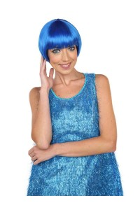 Deluxe Charming Short Bob - Blue