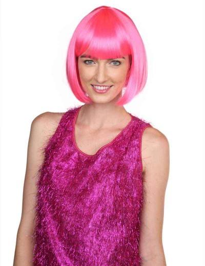 Deluxe Super Model Bob - Neon Pink