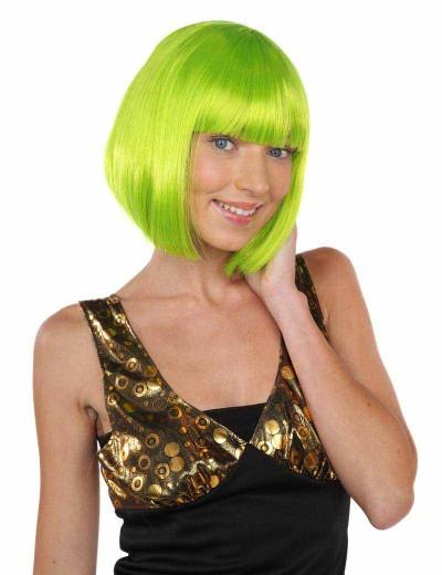 Deluxe Super Model Bob - Neon Lime