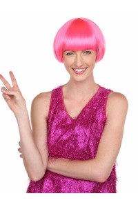 Deluxe Charming Short Bob - Neon Pink