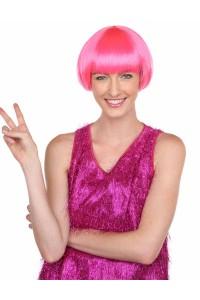 Deluxe Charming Short Bob - Neon Pink