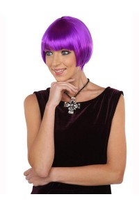 Deluxe Charming Short Bob - Neon Purple
