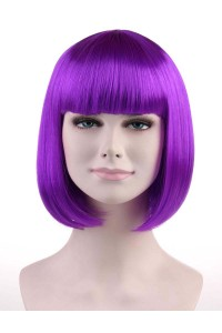Standard Super Model Bob - Neon Purple